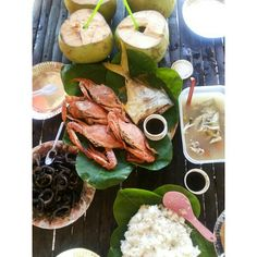 Fresh lunch at Honda bay, Puerto Prinsesa, Palawan Palawan, Honda, Tacos, Mexican, Lunch, Cheese, Fresh, Ethnic Recipes, Eat Lunch