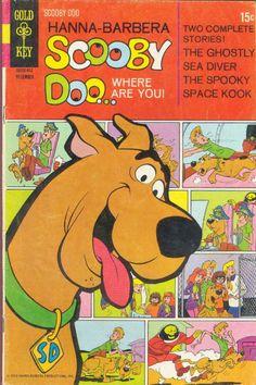 COMIC scooby doo 4 #comic #cover #art