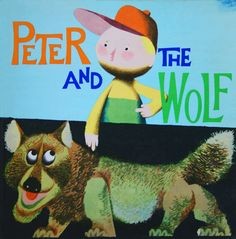 Jiří Trnka's illustrations for Peter And The Wolf (1964)