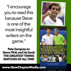 "Words from Pete Sampras on ""The Greatest Tennis Matches of All Time"" #HolidayGiftIdea"