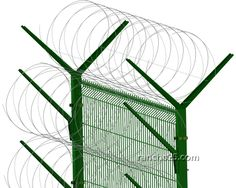 Extra high-security perimeter protection fence systems www.rancho25.com