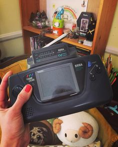 Shared by cat_mcabre #gamegear #microhobbit (o) http://ift.tt/1r4zgAG there beautiful #sega #love