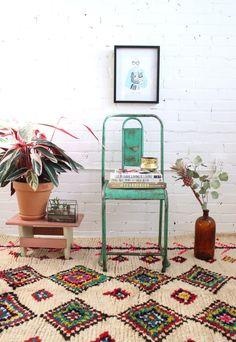 The prettiest boho rug, Baba Souk