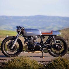"""@caferacercc's photo: """"CAFE RACER   @caferacerCC   #caferacerCC @mattjens 1975 Honda CB750"""""""