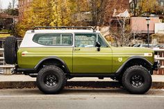 New Legend has a reputation for its over-the-top restomods, especially International Scout builds. Founded by Sean Barber, it is quite possibly the best Scout retro-mod shop in the world, they bring the iconic American SUV into the century wit International Scout Ii, International Harvester, Cool Trucks, Cool Cars, Jeep Scout, Scout Truck, Overland Truck, Offroader, Ford Bronco