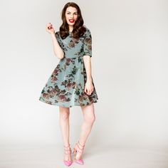 Specialised in Dresses Since 1948 Short Sleeve Dresses, Dresses With Sleeves, Fall 2016, Fall Winter, Grey, Pink, Shopping, Collection, Vintage