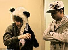 Celebrity trend - animal faux fur hats! :) Justin Bieber, One Direction, Jessie J, Fearne Cotton, Lady Gaga's stylist Nicola Formichetti, Jared Leto, Beth Ditto, Alice Dellal, Henry Holland, Calvin Klein boy Aaron Frew.