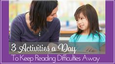 Just 3 activities can prevent reading difficulties for beginning or struggling readers. Offers a free e-book for implementing 3 key activities. Kindergarten Literacy, Early Literacy, Word Study, Word Work, Reading Strategies, Reading Activities, Reading Difficulties, Making Words, Struggling Readers