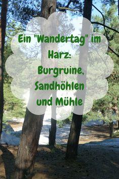 Im Harz gibt es viel zu sehen: Burgruinen, Sandhöhlen und Mühlen
