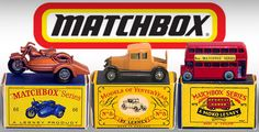 Matchbox is a popular toy brand which was introduced by Lesney Products in 1953 and is now owned by Mattel, Inc. The brand was so named as the original die-cast Matchbox toys were sold in boxes similar in style and size to those in which matches were sold. Subsequently the brand would encompass a broad range of toys including larger scale die-cast models and various non die-cast lines such as plastic model kits and action figures.  HOURS OF FUN !!!