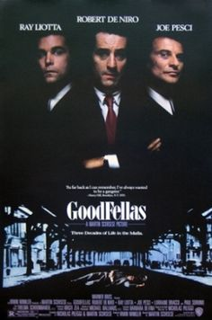 'Goodfellas'. An iconic look at how gangsters used to be. Seen it & own it.