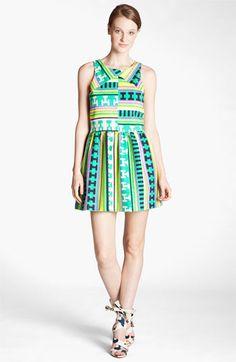 MSGM Ikat Print Dress | Nordstrom