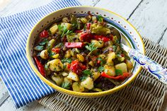 Italian Food Forever » Fried Potatoes, Peppers, & Onions