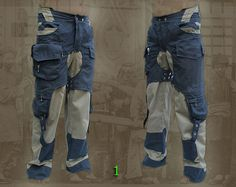 Rebel Pants apocalyptic steampunk van HighTribe op Etsy