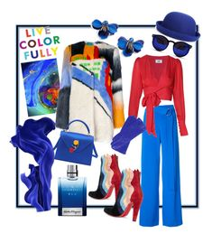 Designer Clothes, Shoes & Bags for Women Salvatore Ferragamo, Christian Louboutin, Kate Spade, Shoe Bag, Polyvore, Collection, Shopping, Design, Women