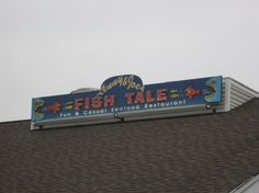 Lenny and Joe's Fish Tale in Madison, CT. Introduced me to lobster rolls, fried shrimp and all things seafood. A summer classic.