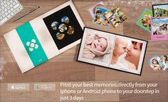 Imprify iOS & Android Worldwide Choose your best pictures, create your album and receive it at home within 72 hours. Converts on order. No Adult and No Social Media