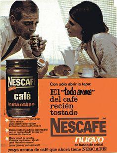 Tostadas, Tapas, Nescafe, Vintage Advertisements, Advertising, Vintage Ads