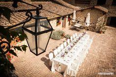 intimate wedding reception in Tenuta di Papena