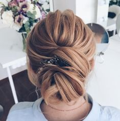 updo wedding hairstyle #weddinghair #updo #updohairstyles