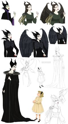 Thats Maleficent (o. IMPORTANT MESSAGE: There is a movie called 'Maleficent' telling you a story of the witch. Disney Pixar, Kida Disney, Disney Villains, Disney And Dreamworks, Disney Animation, Disney Characters, Disney Kunst, Arte Disney, Disney Fan Art