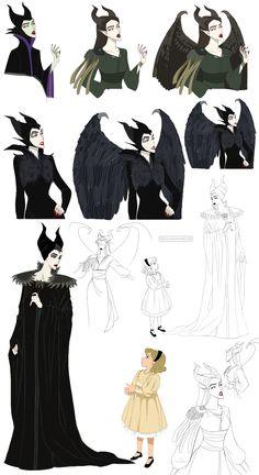 Maleficent Jolie by Precia-T.deviantart.com on @deviantART