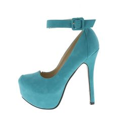 Mrs. B Fashion - Turquoise Ankle Strap Shoe, $29.99 (http://www.mrsbfashion.com/turquoise-ankle-strap-shoe/)