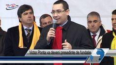 Victor Ponta va deveni presedinte de fundatie