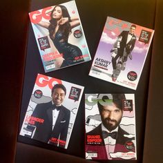 GQ India, October 2015 - See more: www.condenastinternational.com/shop www.instagram.com/condenastworldwidenews email: cnwwn@condenast.co.uk for enquiries