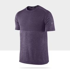 54b61ff07f28 Nike Dri-FIT Knit Short-Sleeve Men s Running Shirt Mens Running Shirts