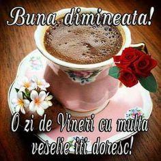 Imagini buni dimineata si o zi frumoasa pentru tine! - BunaDimineataImagini.ro Tea Cups, Tableware, Jenni, Php, Coffee, Google, Home, Good Evening Greetings, Type 1