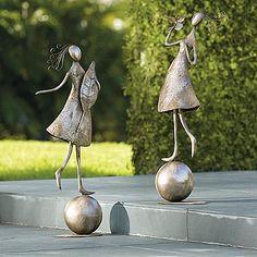 Dancing Garden Girl Outdoor Sculpture