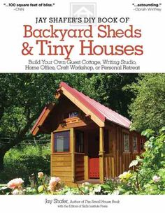 Backyard Sheds and Tiny Houses Book Cover