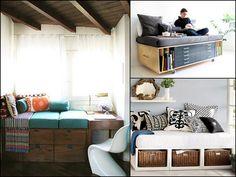 Tiny House Sofa couch Storage