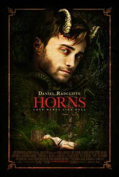 New Romantic Themed 'Horns' Movie Poster - Hell Horror