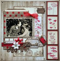 Scrapbook Layouts | 12X12 Layouts | Scrapbooking Ideas | Creative Scrapbooker Magazine #scrapbooking #12X12layouts