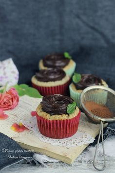 Dukan Chocolate Cupcakes