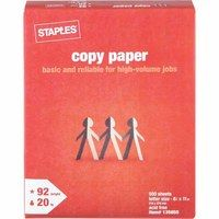 Marnie's Coupon-a-ram-a: FREE PAPER AT STAPLES TILL 12/28!!
