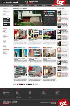 Cliente: Benvenuto & Sanni Trabajo: Diseño y maquetación de sitio web