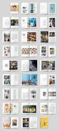 Beautiful Business Magazine Design Templates in 2019 Editorial Design Layouts, Magazine Page Layouts, Magazine Layout Design, Ideas Magazine, Magazine Images, Magazine Covers, Mise En Page Portfolio, Portfolio Layout, Design Poster