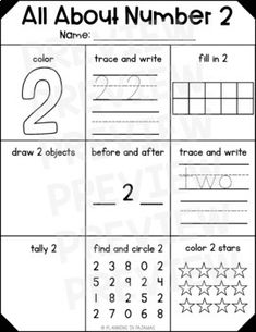 Number Practice 1 10 Trace Write Draw Fill In Ten Frame Plus A
