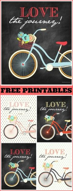 Free Printables ~ LOVE the Journey