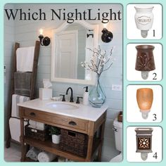 so many options!! #scentsy #nightlight #smellgood