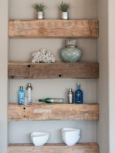 15 Smart DIY Storage Solution Ideas for Tiny Bathroom - bathroom - Bathroom Decor Tiny Bathrooms, Small Bathroom, Bathroom Storage, Bathroom Ideas, Bathroom Modern, Bathroom Mirrors, Wood Bathroom, Vanity Mirrors, Bronze Bathroom