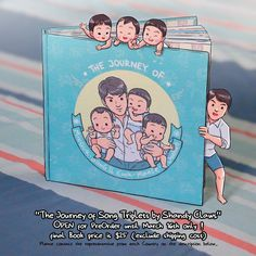 """""""Ready, Get Set, GO!!! PreOrder for """"The Journey of Song Triplets by ShandyClaws"""" are finally OPEN!!! PreOrder are open until MARCH 16th ONLY! (yeah at…"""""""