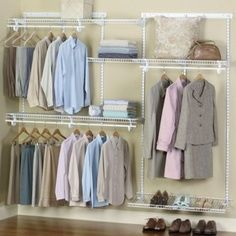 Easy and cheap way to convert bedroom to closet