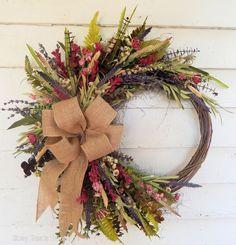 Fall Thanksgiving Deco Mesh Front Door Wreath - Orange Brown Burlap Wreath for Fall Autumn Wreaths, Holiday Wreaths, Spring Wreaths, Rustic Wreaths, Burlap Wreaths, Wreath Fall, Wreaths For Front Door, Door Wreaths, Etsy Wreaths