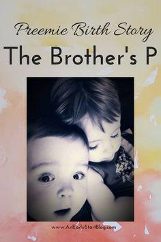 Preemie Birth Story on www.AnEarlyStartBlog.com.