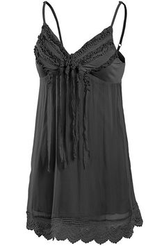 Casual Sleeveless Layered Look Fringe Accent Tank Top By: MUR (Sold In…