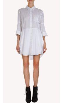 Acne Studios Dee Shirt Dress, select by Zoë Kravitz, actress and Barneys New York Influencer.